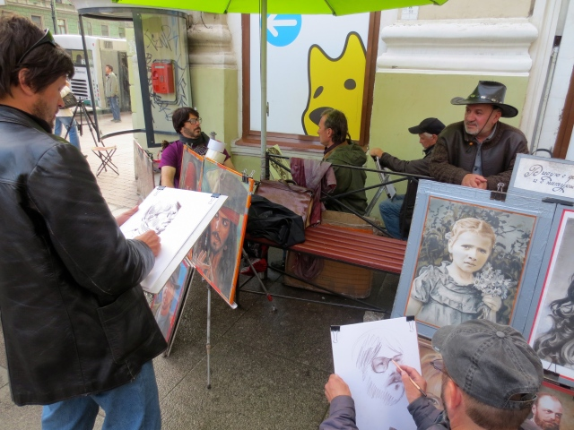 Fancy being sketched by artists.